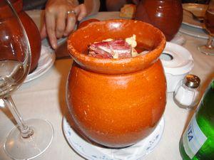 スペイン料理 壺料理1